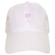 Breast Cancer Awareness Pink Ribbon Tree Baseball Cap