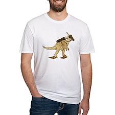 Dino Mask - old paper Shirt