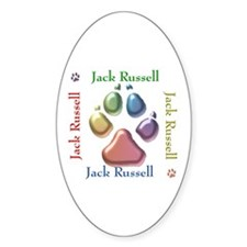 JRT Name2 Oval Decal