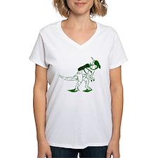Dino Mask - green Shirt