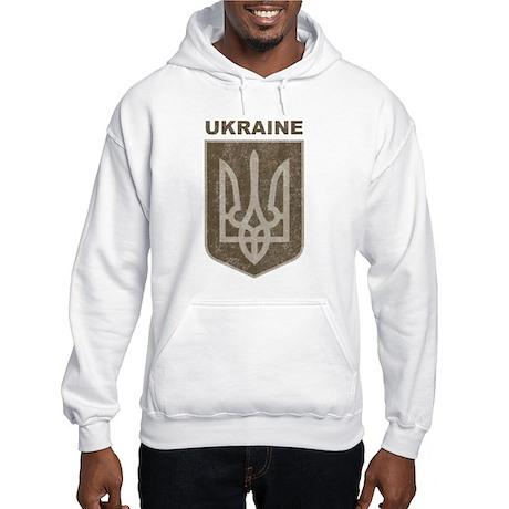 Vintage Ukraine Hooded Sweatshirt