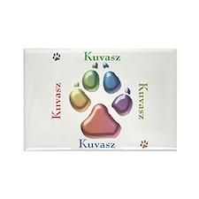 Kuvasz Name2 Rectangle Magnet (10 pack)