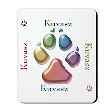 Kuvasz Name2 Mousepad