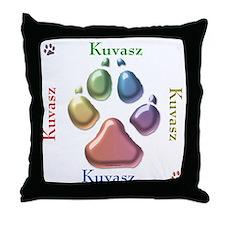 Kuvasz Name2 Throw Pillow