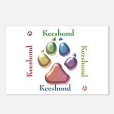 Keeshond Name2 Postcards (Package of 8)