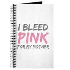 Pink Breast Cancer Mother Mom Journal
