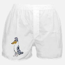 Smooth Blue Merle Collie Boxer Shorts
