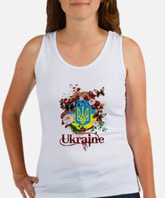 Butterfly Ukraine Women's Tank Top