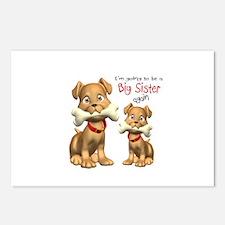 Cute Big sister again Postcards (Package of 8)