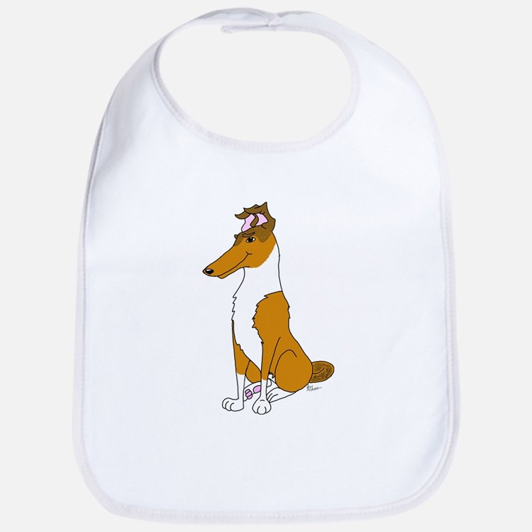 Smooth Sable Collie Bib