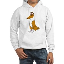 Smooth Sable Collie Jumper Hoody