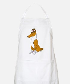 Smooth Sable Collie BBQ Apron
