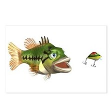 Fish and Lure Postcards (Package of 8)