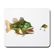 Fish and Lure Mousepad