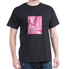 Pink Tennis Logo T-Shirt