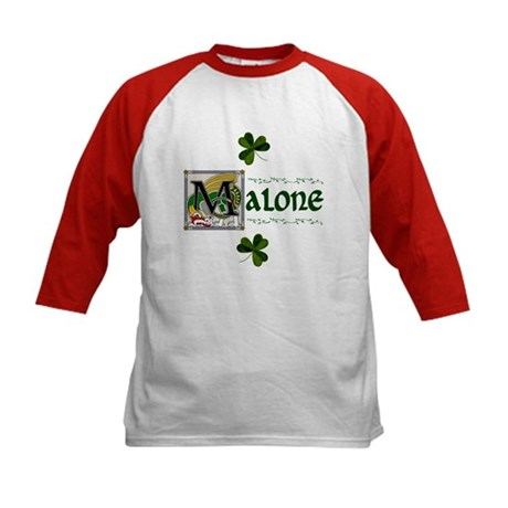 Malone Celtic Dragon Kids Baseball Jersey