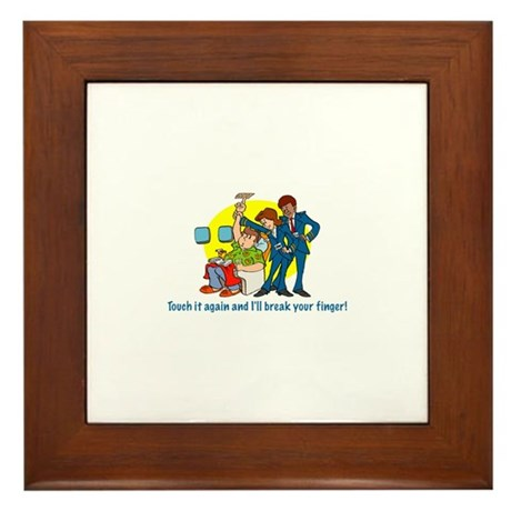 Call Button Framed Tile