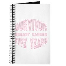 Survivor Breast Cancer Five Years Journal