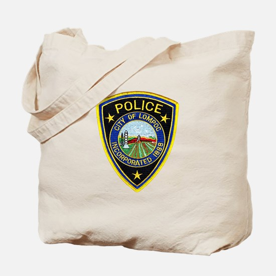 Lompoc Police Tote Bag