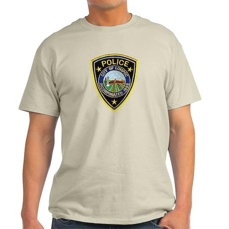 Lompoc Police Light T-Shirt