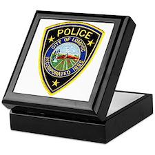 Lompoc Police Keepsake Box
