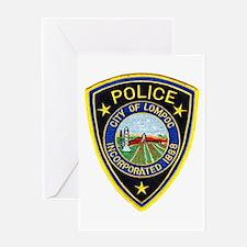 Lompoc Police Greeting Card