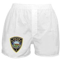 Lompoc Police Boxer Shorts