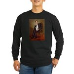 Lincoln/Poodle (W-Min) Long Sleeve Dark T-Shirt