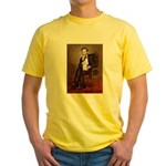 Lincoln/Poodle (W-Min) Yellow T-Shirt