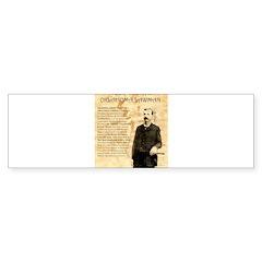Heck Thomas Bumper Sticker (10 pk)