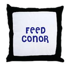 Feed Conor Throw Pillow