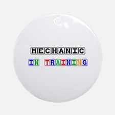 Mechanic In Training Ornament (Round)