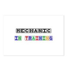 Mechanic In Training Postcards (Package of 8)