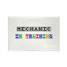 Mechanic In Training Rectangle Magnet