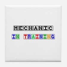 Mechanic In Training Tile Coaster