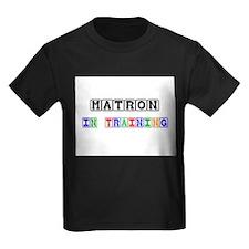 Matron In Training Kids Dark T-Shirt