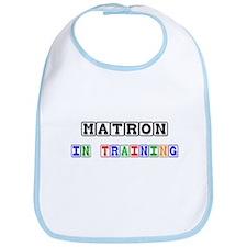 Matron In Training Bib