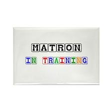 Matron In Training Rectangle Magnet