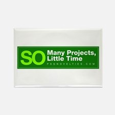 Project schedule Rectangle Magnet