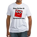 Shop On-line Fitted T-Shirt