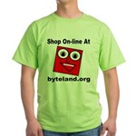 Shop On-line Green T-Shirt