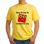 Shop On-line Yellow T-Shirt