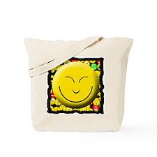Smiling Mood Smiley Tote Bag