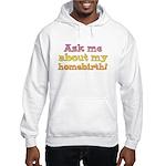 Hooded Sweatshirt/ Ask me... homebirth!