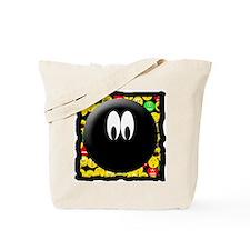 Dark Mood Smiley Tote Bag