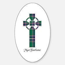Cross-MacFarlane hunting Sticker (Oval)