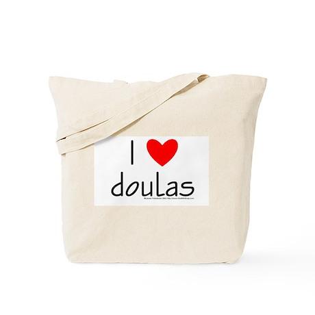 I (Heart) Doulas Tote Bag