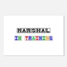 Marshal In Training Postcards (Package of 8)