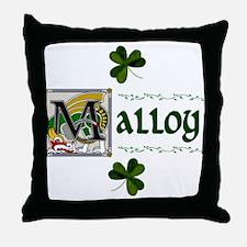Malloy Celtic Dragon Throw Pillow