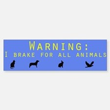 Environment Bumper Bumper Bumper Sticker